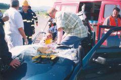 Prometna nesreča v Bistrici ob Sotli