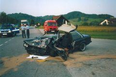Prometna nesreča v Podčetrtku