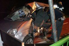 Prometna nesreča na Celjski cesti