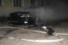 53-Požar osebnega vozila Strma ulica 2_12_2007