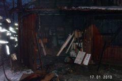 5- Požar barake Cesta na Boč 6, 17_1_2010