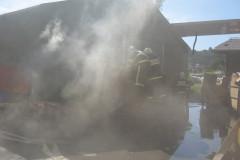 20 - Požar zaboja za odpadke - Steklarna