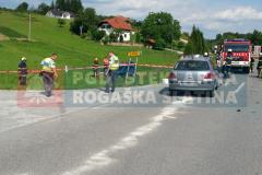 2. junij Prometna nesreča - Spodnje Sečovo