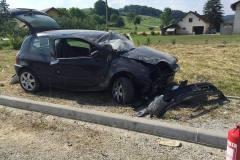 12. junij Prometna nesreča Pristava