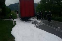 15. maj Požar tovornjaka - Spodnji Gabernik