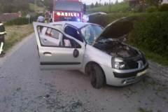 4. junij Prometna nesreča - Cesta na Boč