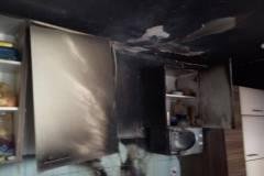 14. marec Požar v kuhinji
