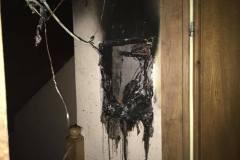 22. oktober Požar elektro omarice Podturn