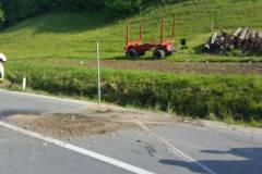 6. maj Prometna nesreča Hajnsko