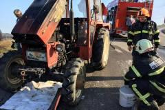 10. april Požar traktorja - Trojica