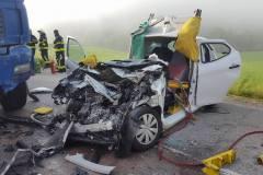 2. junij Prometna nesreča Vojsko